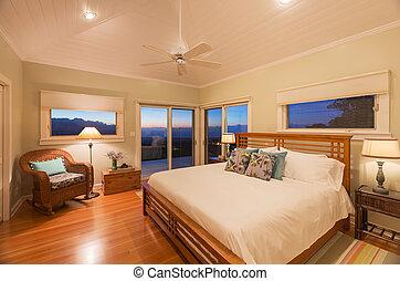 kényelmes, hálószoba