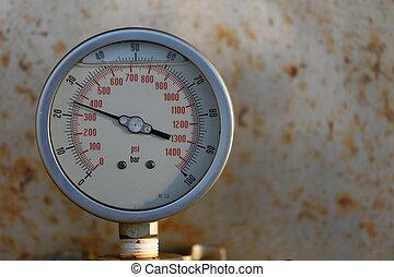 kényszer, olaj, gáz mérce