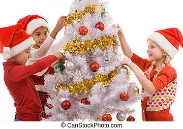 képben látható, karácsonyeste