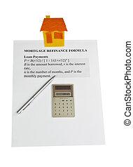 képlet, refinance, jelzálog