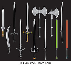 képzelet, állhatatos, kard, tengelyek