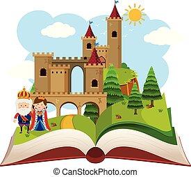 képzelet, bástya, könyv, feláll, váratlanul