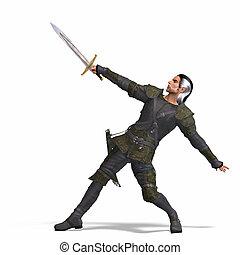 képzelet, gazember, noha, kard
