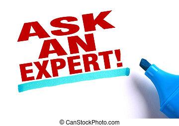 kérdez, egy, szakértő