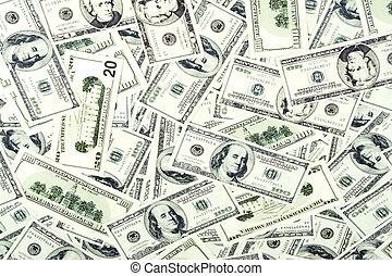 készpénz, háttér