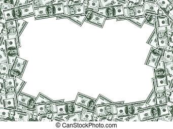 készpénz, keret