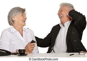 két, öregedő emberek