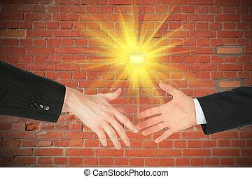 két, ügy kezezés
