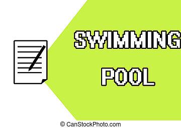 kézírás, szöveg, írás, úszás, pool., fogalom, jelentés,...