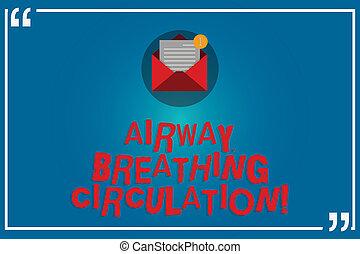 kézírás, szöveg, írás, szellőzőnyílás, lélegzés, circulation., fogalom, jelentés, emlékezőtehetség, segély, helyett, mentő, előadó, cpr, nyílik, boríték, noha, dolgozat, új, email üzenet, belső, idézőjel, outline.