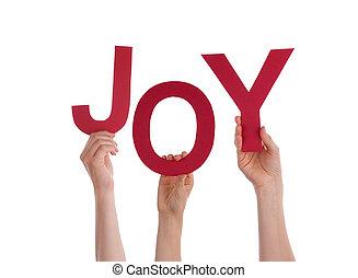 kézbesít, birtok, öröm