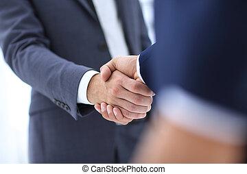 kézfogás, ügy fogalom