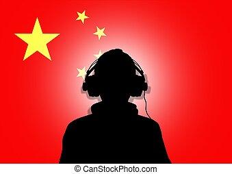 kína, zene