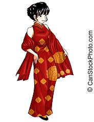kínai, hagyományos kosztüm