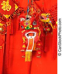 kínai, jó szerencse, jelkép