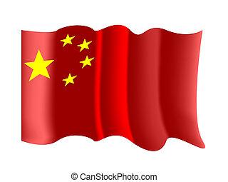 kínai lobogó