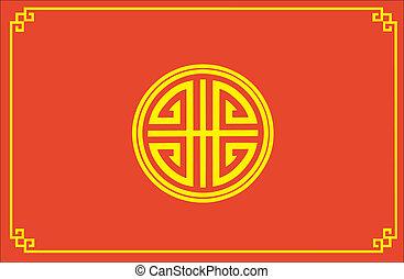 kínai, shui, feng, jelkép