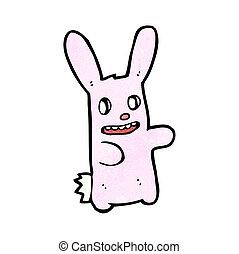 kísérteties, nyuszi nyúl, karikatúra