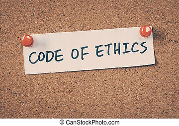 kód of etika