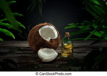 kókuszdió, olaj