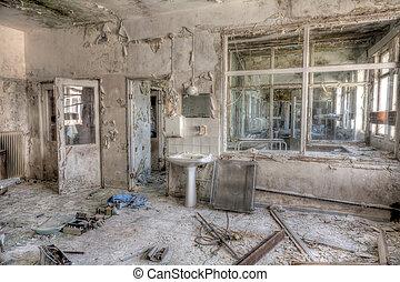 kórház, öreg
