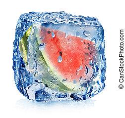 köb, görögdinnye, jég