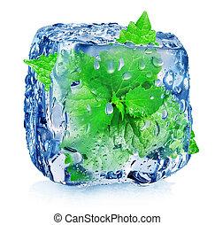 köb, kieszel, jég
