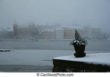 köd, stockholm