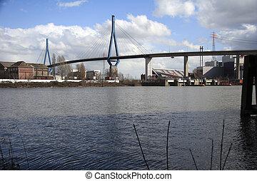 (köhlbrand), koehlbrand-bridge