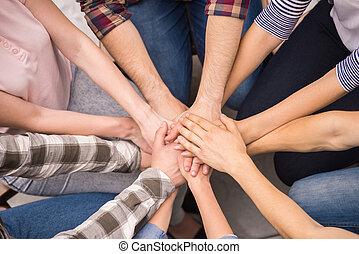 kölcsönhatás, csoport