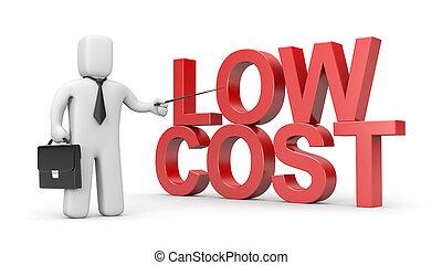 költség, alacsony