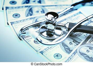 költség, healthcare