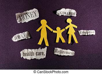 költségvetés, család