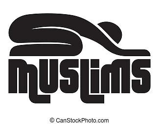 könyörgés, muzulmán