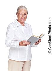 könyv, nagymama