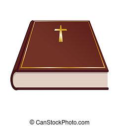 könyv, szent bible