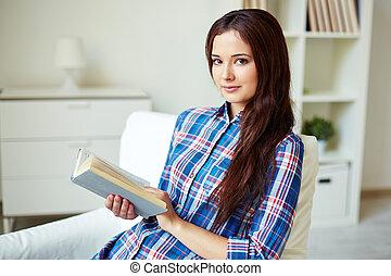könyv, tizenéves