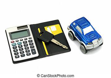 köpa, sälja, bil