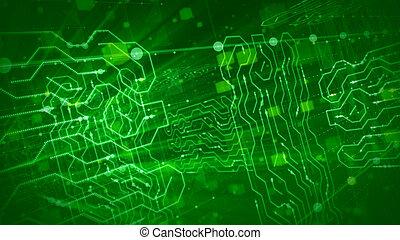 körök, belső, kikövez, zöld, bizottság