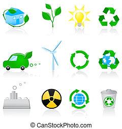 környezet, állhatatos, ikon
