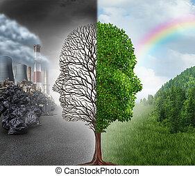 környezet, cserél