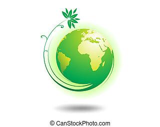 környezet, földgolyó