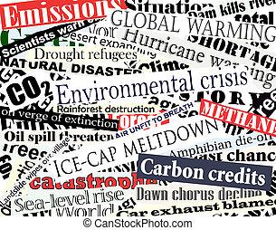 környezeti, címoldalon közöl