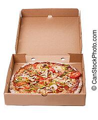 köstlich , pizza, tisch
