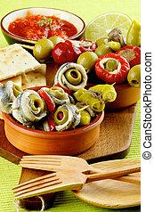köstlich , spanischer , knabberzeug