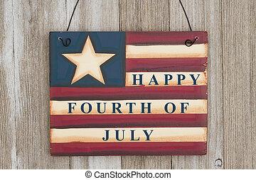 köszönés, july 4, boldog