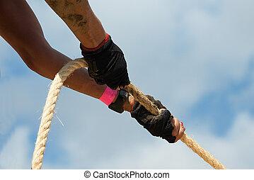 kötélhúzás