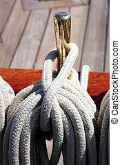 kötélzet, magas hajó