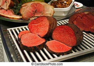 kött, röd