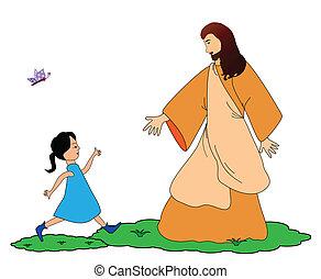 követ, jézus